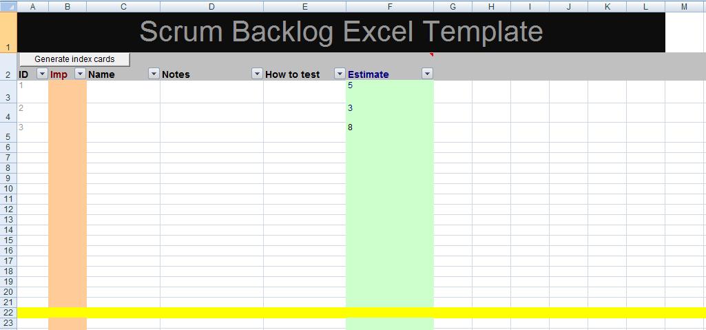 excel risk assessment matrix template format project management excel templates. Black Bedroom Furniture Sets. Home Design Ideas