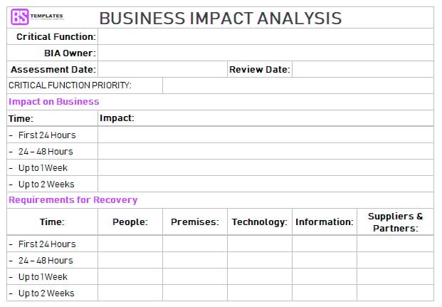 Business-Impact-Analysis-Template-excel