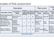 Risk Control Matrix Internal Audit Template